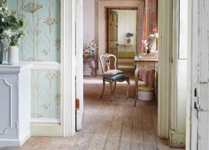 Harlequin wallpaper lovely for every room