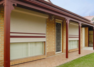 Roller Shutters Elegant and Private