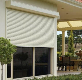 Roller Shutters Available at Rian's Window Treatments
