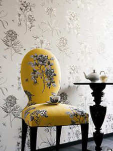 Sanderson wallpaper makes every room look wonderful
