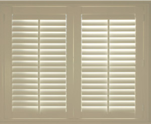 Wood Look Colonial Shutters